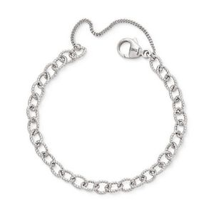 James Avery Twisted wire cable Charm Bracelet